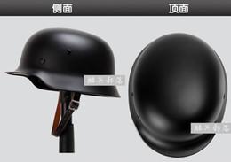 Wholesale materiales de alta calidad al por mayor el M35 casco alemán de la Segunda Guerra Mundial interior de cuero puro cascos tácticos cascos de motocicleta