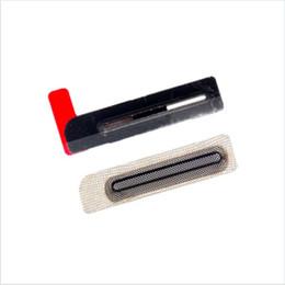 Wholesale New For Apple iphone G plus S S C upper Earpiece Speaker Earphone Net Anti Dust Mesh Dustproof Grill tail plug Network iphone6 p