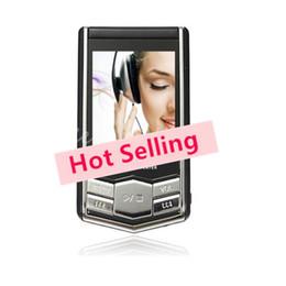Promotion nouveaux écrans lcd Lecteur MP4 lecteurs MP3 Nouveau de 8 go 16 GO Slim Écran LCD Vidéo PMP Médias de Radio Fm Lecteur de Freeship