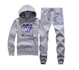s-5xl Tracksuits pullover Pocket Plus velvet Geometric Men's Pullover Print 051 Fleece Hoodie+pants Winter Sweatshirts suit