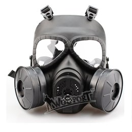 Wholesale New good quality Cosplay CS Wargame Tactical Airsoft Skull Anti Fog Dummy Gas Protective Mask tactical equipment