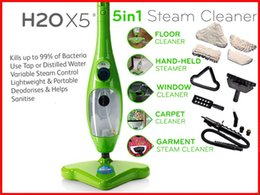 Wholesale 5 in Multi function Steam Mop Cleaning Machine Cleaner Household Cleaning Tools With US UK EU Plug Logo Packing