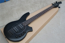 Wholesale High Quality String Bongo Electric Bass with Black Body and Open Pickups and Can be Changed