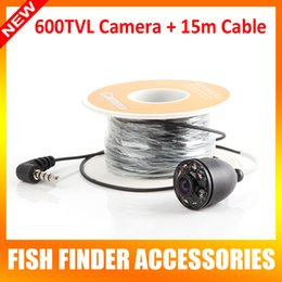 Wholesale 2015 New Arrival Only TVL White Underwater Video Camera With Meters Cable For quot TFT LCD Fishing Camera BO220 H15M OR BO220 H30M