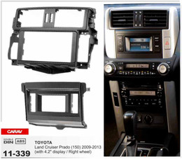 "CARAV 11-339 Top Quality Radio Fascia for TOYOTA Land Cruiser Prado(with 4.2""display)Stereo Fascia Dash CD Trim Installation Kit"