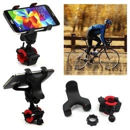 Wholesale Free DHL New Degree Rotatable Bicycle Bike Phone Holder Handlebar Clip Stand Mount Bracket