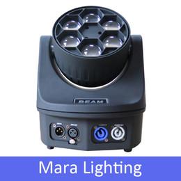 Wholesale New W Led Beam Moving Head Light RGBW Mini Bee Eyes Party Dj Light Stage Professional Lighting