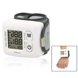 Wholesale Medidor De Pressao Arterial Health Monitors BW Automatic Digital Wrist Omron Blood Pressure Meter Sphygmomanometer E0214
