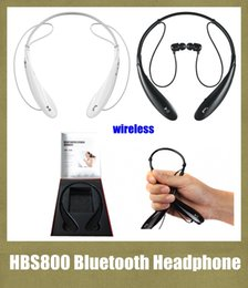 Wholesale Tone HBS HBS800 HBS Headphone Sports Stereo Bluetooth Wireless Headset colors for Samsung LG Blackberry iPhone EAR003