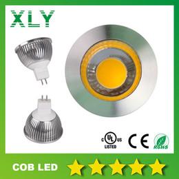 AC / DC 12V LED Lights MR16 GU5.3 5W COB Down Light Lampes 90-100LM / W Plafond Ampoules 3000K 4000K 6000K Garantie 3 ans à partir de dc a mené la lumière au plafond fabricateur