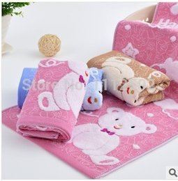 Wholesale 2014 Freeshipping pieces sale new hot Children s cartoon coke bears double towel manufacturers selling