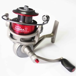 Wholesale Fishing Spinning Reel CB540 BB Long Casting Reel For Salt Water Standard Fishing High Speed Aluminum Spool