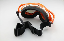 Wholesale out door Ski Snowmobile Off Road Motorcycle ATV ski Goggles Orange Frame Color Lens T815 snow goggles snowboard