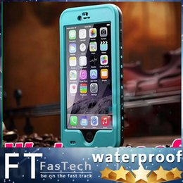 Redpepper Waterproof Case For Iphone 6 Plus 5.5 Shockproof Snowproof Hard PC TPU Back Cover For Iphone 6 4.7 Retail Package High Quality
