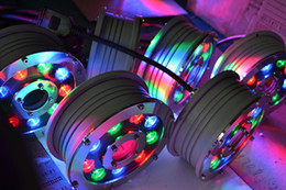 10.8W,RGB led ring fountain light,RGB underwater light with 3years warranty