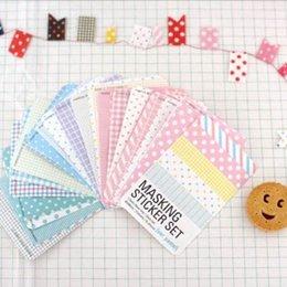 Wholesale Hot Sale Candy color Print Notebook Album Calendar Memo Message Diary Notes Decor Scrapbook Paper Sticker