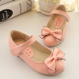 sweet hot princess single shoes cute bowtie children shoes girls shoes casual fashion school shoes