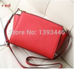 Wholesale New SELMA Women Clutches Messenger Bags Lady Leather Bags Letter LOGO Separate
