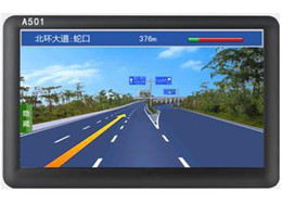 Wholesale GPS car navigation systems manufacturers inch HD ultra thin GPS navigator car navigation systems