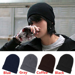 Wholesale Hot Sales Mens Ladies Womens Slouch Beanie Knitted Oversize Beanie Skull Hat Caps ax40