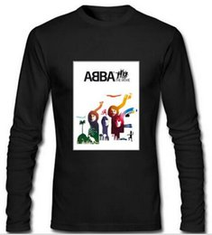 Wholesale 2016 Men s Clothing Men Long Sleeve T Shirt ABBA The Movie Benny Andersson Cotton Print Fashion Antumn T Shirt Man