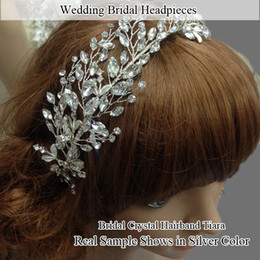 Wholesale-Free Shipping Women's Girl's Rhinestone Wedding Bridal Hair Bands Dress Hair Accessories