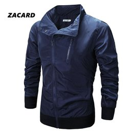Fall-2016 Summer Men Trench Coat Mens Outerwear Casual Coat Men's Cotton Zipper Jackets Quick Dry Windproof Skin Coat-Sun Protection