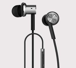 Wholesale-Original Xiaomi Hybrid Earphone 2 Units In-Ear HiFi Headset Xiaomi Mi 1more Piston 4 Headphone With Mic Circle Iron Mixed