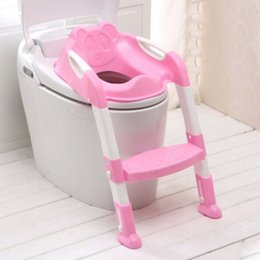 Wholesale New arrival Loz infant zuopianqi baby potties commode chair kids potty chair folding toilet seat child toilet ladder