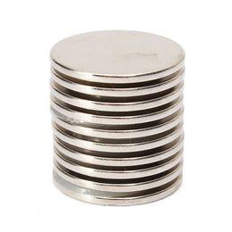 Aimant néodyme forte en Ligne-10PCS 25mm x 2mm N35 solide ronde Rare Aimant de la terre aimants en néodyme pour $ 18Personne piste