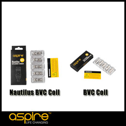 Wholesale Authentic Aspire Nautilus BVC Coil for Nautilus Mini Tank Aspire BVC Coils for CE5 CE5 S ET S Vivi Nova BVC BDC atomizer