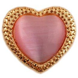 D01023 heart wholesale NOOSA fashion jewelry noosa chunks
