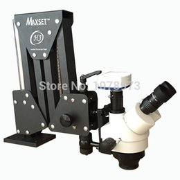 Wholesale High Quality Jewelry Tools Microscope with Acrobat Stand Microscope with Camera