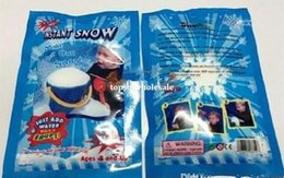 Wholesale 10000pcs cool Christmas Decoration Instant Snow Magic Prop DIY Instant Artificial Snow Powder Simulation Fake Snow Night Party magic snow