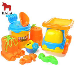 Wholesale Dala toys beach toy set atv beach bucket sand swimming toys
