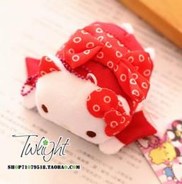 Wholesale gudetama Wind kimono series kitty Melody big ears dog dog pudding egg yolk brother cartoon pendant