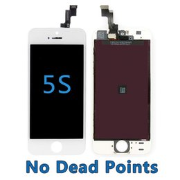 Wholesale For iPhone S C LCD Screen No Dead Points Touch Digitizer Screen with Frame AAAA Quality with Small Parts Assembly Repalcement Parts