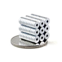 200pcs Forte aimants d'Anneau Dia 5mmx1.5mm N50 à Aimant Néodyme de Terre Rare à partir de aimant néodyme forte fournisseurs