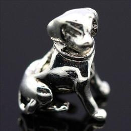 Nouveau! Gros chien 4mm vis initiale charmes 925 argent perle européenne Compatible avec Snake Chain Bracelets bijoux supplier initial charm bracelets à partir de bracelets de charme initiales fournisseurs