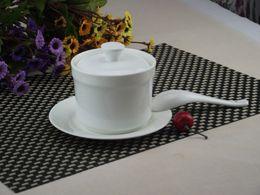Wholesale MIN ORDER Inch Whitest Porcelain Slow Cooker Ceramic Bone China Slow Cooker