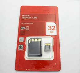 Wholesale DHL sells memory card GB GB GB SDHC discount CLASS TF SD Micro card gift new DHL