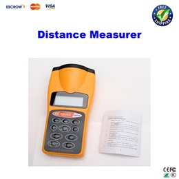 Wholesale CP LCD Ultrasonic Laser Pointer Distance Measurer FT with back light
