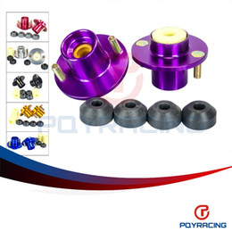 Wholesale PQY STORE PC SHOCK TOP HAT FOR CIVIC DELSOL INTEGRA JDM COILOVER SHOCK TOP MOUNT HAT STRUT TOWER PQY STH81