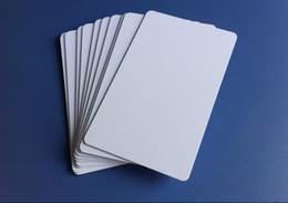 Impresoras de inyección de tinta gratis en Línea-De buena calidad Inkjet PVC tarjeta para Epson T50 P50 A50 L800 R290 R230 Impresora en blanco imprimible en blanco tarjetas PVC libre de envío 230pcs / box