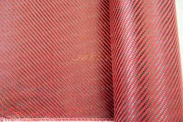 Wholesale Carbon K Aramid D Fiber Twill Woven Hybrid Fabric g m2 Yarn Weave Cloth