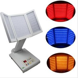 New Pro Medical PDT Photodynamics equipment, LED red blue yellow light therapy skin beauty machine