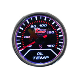 Wholesale Xpower New quot mm LED Pointer Indicator Oil Temperature Gauge Car Vehicle Motor motor vehicle news motor