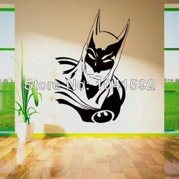 Wholesale BATMAN SUPERHERO Vinyl wall art sticker childrens themed room decal