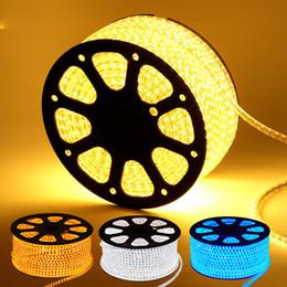 Wholesale SMD5730 LED Strip Light LEDs M V V AC without POWER SUPPLY Cuttable at Meter LED Strips led tape