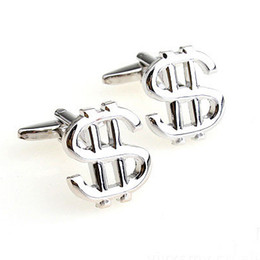 Silver Dollar,Euro Cuff Links French Cufflinks Mens Fashion Accessories Mens Gifts Cuff-links